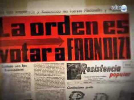 Screenshot 1/3 de Video #40439 - La presidencia de Frondizi: desarrollismo, inestabilidad