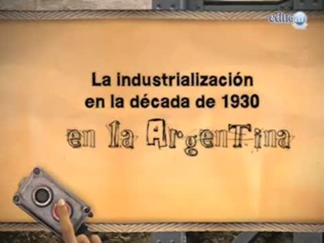 Screenshot 1/3 de Video #40443 - La industrialización en la década de 1930 en la Argentina