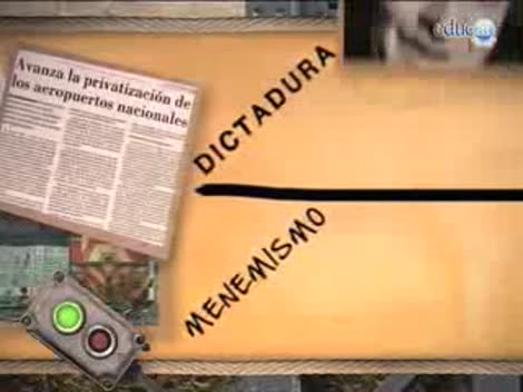 Screenshot 3/3 de Video #40447 - Las políticas neoliberales en la década de 1990: privatizaciones y grupos económicos