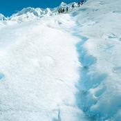 Caminata en  el glaciar