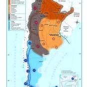 Mapa climático de Argentina