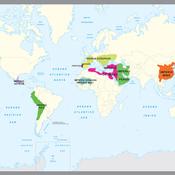 Mapa Histórico Grandes Civilizaciones