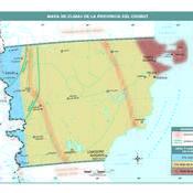 Mapa climático de Chubut