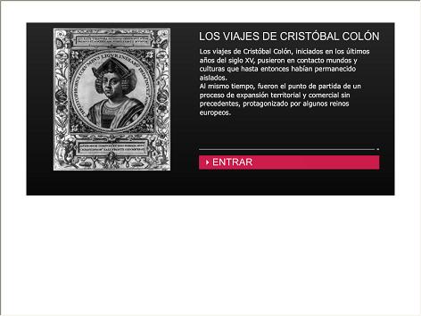 Screenshot de Infografía #20017 - Los viajes de Cristóbal Colón