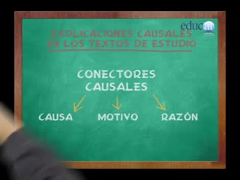 Screenshot 1/3 de Video #40526 - Conectores causales