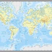 Planisferio Físico
