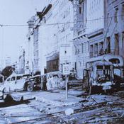 Bombardeo en la Plaza de Mayo 1955