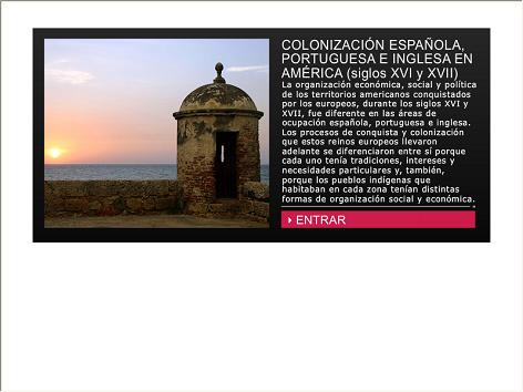 Screenshot de Infografía #20013 - Colonización española, portuguesa e inglesa en América (siglos XVI y XVII)