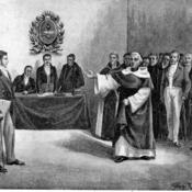 San Martín ante el Congreso de Tucumán
