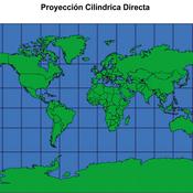 Proyección Cilíndrica Directa
