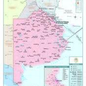 Mapa político de la provincia de Buenos Aires