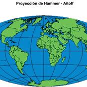 Proyección Hammer Aitoff