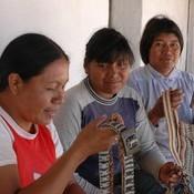 Vendedoras de artesanías