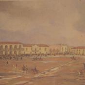 25 de mayo de 1810, de Leonie Matthis. Catedral