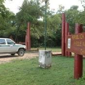 Ingreso al parque nacional Chaco