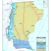 Mapa climático de Santa Cruz