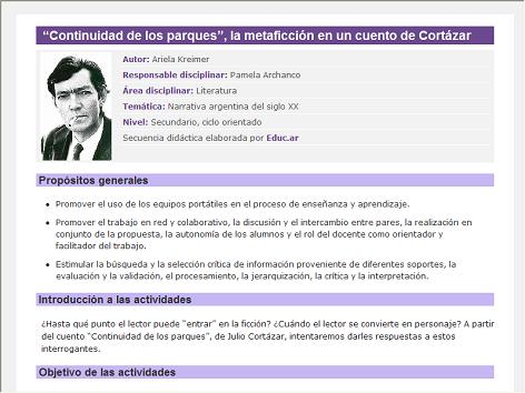 Screenshot de Secuencia Didáctica #14807 -