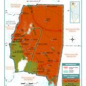 Mapa climático de Santiago del Estero