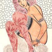 Ramona con medias caladas, 1975