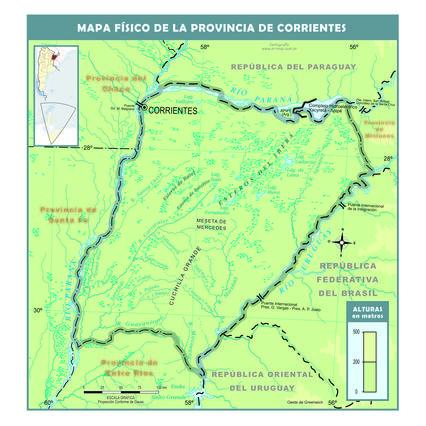 Screenshot 3 de Galería #87205 - Mapas físicos de la Argentina