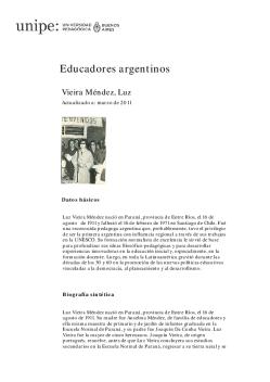 Screenshot de Biografía #90568 - Vieira Méndez, Luz (1911-1971)
