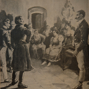 Tertulia en la época colonial, Buenos Aires