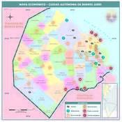 Mapa económico de la Ciudad Autónoma de Buenos Aires