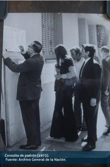 Consulta de padrón (1973)