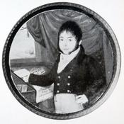 Juan Larrea. Miniatura