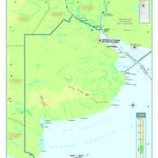 Mapa físico de la provincia de Buenos Aires