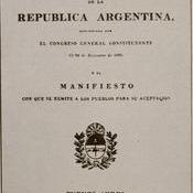 Constitución de la Republica Argentina