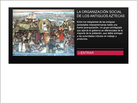 Screenshot de Infografía #20080 - La organización social de los antiguos aztecas