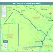 Mapa físico del Chaco
