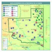 Mapa económico de La Pampa