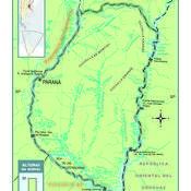 Mapa físico de Entre Ríos