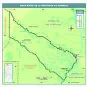 Mapa físico de Formosa