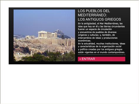 Screenshot de Infografía #20056 - Los pueblos del Mediterráneo: los antiguos griegos