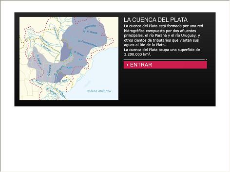 Screenshot de Infografía #20009 - La cuenca del Plata
