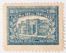 Estampilla por el centenario de la Independencia