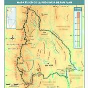 Mapa físico de San Juan