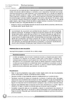 Screenshot de Actividad #70140 - De solventes y solutos
