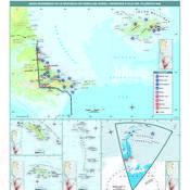Mapa económico de Tierra del Fuego, Antártida e islas del Atlántico Sur